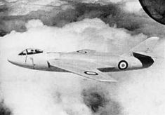 First flight of the Hawker P.1081 research aircraft 19/6 1950.