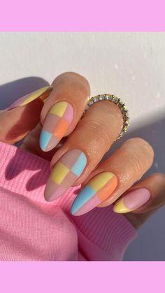 Edgy Nails, Chic Nails, Stylish Nails, Trendy Nails, Swag Nails, Nail Design Glitter, Nail Design Spring, Coffin Nails, Gel Nails