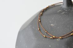 Gold Beads Bracelet (Margaret Solow) - SOURCE objects