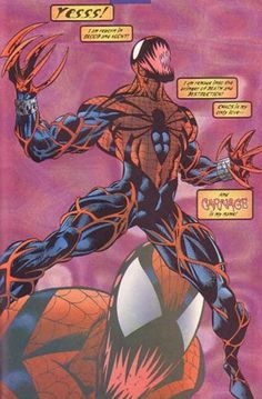 ... and Spider-Carnage is my NAME !!!!! ○○