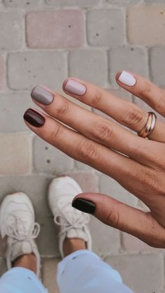 me - nails - Nageldesign Trends 2019 Seite 1 ~ thereds.me - nails - Nagellack Design, Nagellack Trends, Stylish Nails, Trendy Nails, Cute Acrylic Nails, Cute Nails, Hair And Nails, My Nails, Dark Nails