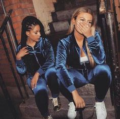 beauty, tracksuit, and velvet image Go Best Friend, Best Friend Outfits, Best Friend Goals, Bff Goals, Squad Goals, Look 2018, Youre My Person, Fashion Killa, Swagg