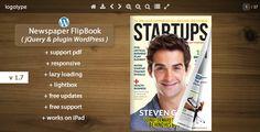 pdf wordpress jQuery flipbook pdf.js