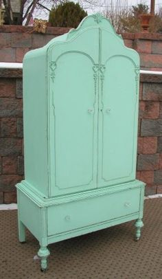 Beautiful Color on this Gorgeous Armoire...