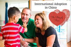 The story of Finn! A journey of International Adoption in China. Watch the adoption video!