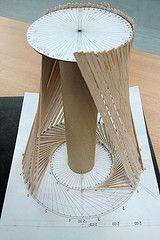 AT WORK (laukrak) Tags: architecture construction arquitectura model chapel surface construccin maquette maqueta projet proyecto siza superficie capilla felixcandela ruledsurface reglada