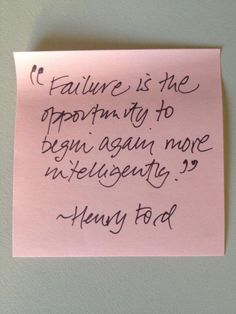 Failure by Henry Ford