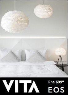 VITA Eos Fjær lampe