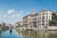Palazzo Cavalli-Franchetti, Venice' by Peruvian artist Federico del Campo (1837-1927), oil on canvas, 18 x 28 in. - Federico del Campo - Wikipedia