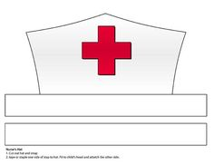 Image result for doctor hat paper craft template