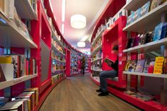 BOOKSTORES! Paagman bookstore by CUBE Architects, The Hague   Netherlands