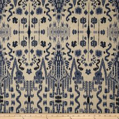 Screen printed on a medium weight cotton/rayon blend, this Danish Linen fabric has an oatmeal appearance and is appropriate for window accents (draperies, valances, curtains and swags). Also perfect for revitalizing an old piece of furniture with a new look, upholster headboards and ottomans or create accent pillows, tote bags, aprons and more. Colors include oatmeal and navy blue.