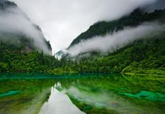 Jiuzhaigou Nature Reserve, Sichuan Province, China by michael yamashita