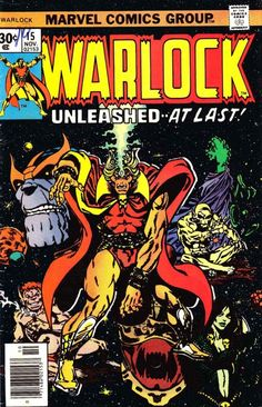 Warlock 15 Marvel comics group