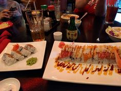 [I ate] sushi and sake #food #foodporn #recipe #cooking #recipes #foodie #healthy #cook #health #yummy #delicious