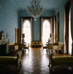 Blue room - Alupka or Vorontsov Palace, Crimea.