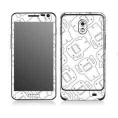 Skin Decal Stickers Cell Phone Wrap iPhone 6 Plus Universal Mobile DOMO-KUN #10 #POPSKIN