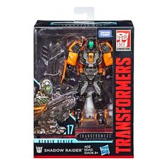 Transformers Studio Series 17 Deluxe Class Transformers: Age of Extinction Shadow Raider Transformers Collection, Transformers Action Figures, Transformers Movie, Transformers Bumblebee, Blockbuster Movies, Iconic Movies, The Faceless, Disney Toys, Raiders