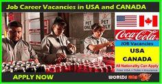 Coca Cola Job Career Vacancies in USA and CANADA : In Coca-Cola North America, we refresh millions of consumers in Canada, Puerto Rico a. Apply Job, How To Apply, Job Offers, Job Career, North And South America, Find A Job, Coca Cola, Canada, Coke