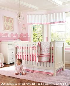 Baby Girls Nurseries