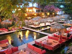 Adrasan river, Antalya, Turkey.