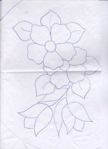 Hand Embroidery Videos, Hand Embroidery Patterns, Beaded Embroidery, Flower Pattern Drawing, Butterfly Drawing, Border Embroidery Designs, Applique Designs, Easy Flower Drawings, Abc Coloring Pages