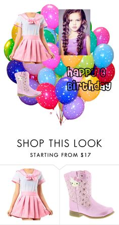 """""""Happy 6 Birthday!"""" by niallersprincess4321 on Polyvore featuring Hello Kitty"""