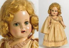 images of princess elizabeth doll | 1937 alexander princess elizabeth doll 13 27 tall all composition