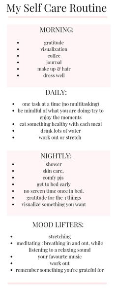 Fitness Workouts, Mantra, Self Care Bullet Journal, Vie Motivation, Stress, Self Care Activities, Self Improvement Tips, Self Care Routine, Best Self