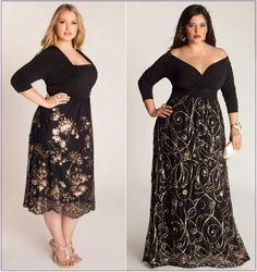 Новые праздничные платья для полных женщин и украшения Igigi   Power.ladyblissme.ru