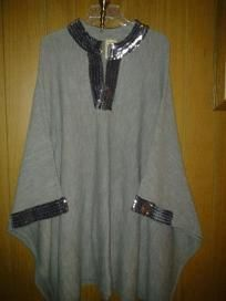 Original v pretty coat or shawl 4 her 100% acrylic but u feel like wool one size free ship 4 $ 39.99