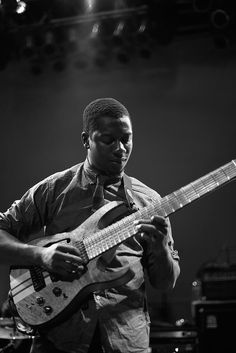 Tosin Abasi lead guitarist for Animals As Leaders