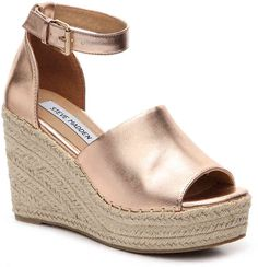 9aba0c8f9c2 Searching for a cute pair of espadrilles to complete your summer wardrobe  Check  out the Jaylen platform sandals from Steve Madden!