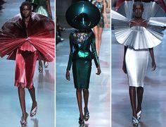 Paris Fashion Week Avant Garde | ... runway during the Paco Rabanne Spring 2012 Paris Fashion Week show