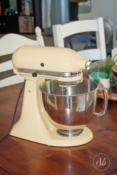 How to Repaint Your KitchenAid Mixer