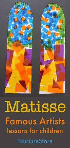 Famous artists lesson plans for children Henri Matisse