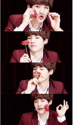 Suga is my sugar. Jimin, Min Yoongi Bts, Min Suga, Bts Bangtan Boy, K Pop, Bad Boy, I Love Bts, Daegu, Photos Du