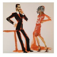 Donald Drawbertson x Carine Roitfeld collab