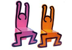 Haring chairs by Vilac