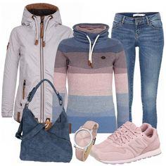 Freizeit Outfits: Zuckerwatte bei FrauenOutfits.de