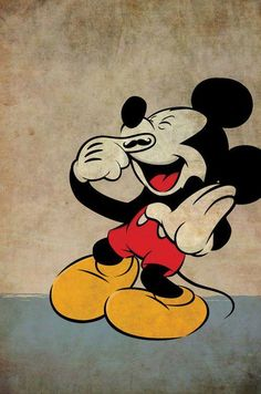 Mickey with a Fingerstache Temporary Tattoo!!! #Mickey #Disney #TemporaryTattoos