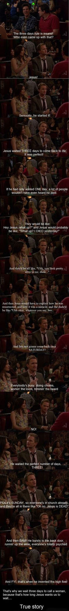 hahahaha BEST explanation ever. I about died laughing when I watched this episode!