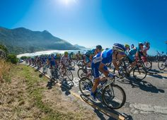 A test of endurance and a race against the clock. Be it the road race or time trial, road cycling events will be contested against the background of Rio's stunning scenery. The sport has been in the Olympic Games since Athens Cycling Events, Vagas, Summer Olympics, Road Cycling, Olympic Games, Scenery, Bicycle, Racing, Photo And Video