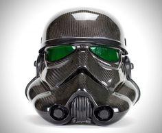 Carbon Fiber Star Wars Stormtrooper Helmet 3500$