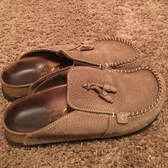 Birkenstock Papillio clogs Birkenstock Papillio clogs pre-loved and adored!!!  basically I just seasoned them for you, excellent condition and lots of life left  very comfortable!!! Birkenstock Shoes Mules & Clogs