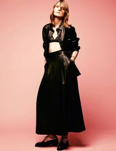 DROMe Leather Shirt featured in IO Donna