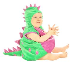 Baby Dinosaur Infant Toddler Costume sz Newborn 6-12M  sc 1 st  Pinterest : despicable me toddler costumes  - Germanpascual.Com