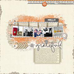 #grateful - Digital Scrapbooking Ideas - DesignerDigitals
