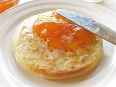 Crumpet recipe! This is what I want for Mother's Day!
