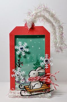 In My Creative Opinion: 25 Days of Christmas Tags - Day 25 - tag by Samantha Casey